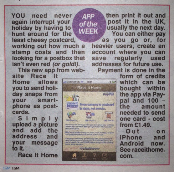 App Of The Week - The Sun